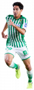 Diego Lainez football render