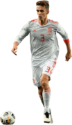 Diego Llorente football render