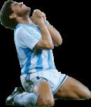 Diego Maradona football render