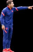 Diego Simeone football render