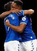 Dominic Calvert-Lewin & Yerry Mina football render