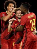 Dries Mertens, Axel Witsel & Michy Batshuayi football render
