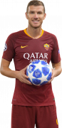 Edin Džeko football render
