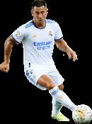 Eden Hazard football render