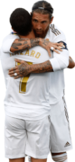 Eden Hazard & Sergio Ramos football render