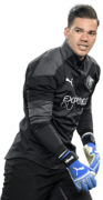 Ederson Moraes football render