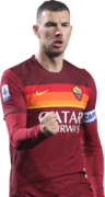 Edin Dzeko football render