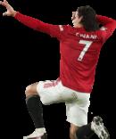 Edinson Cavani football render