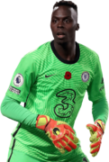 Edouard Mendy football render
