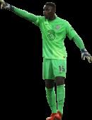 Edouard Mendy football render