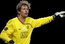 Edwin van der Sar football render