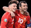 Eljif Elmas & Goran Pandev football render