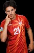 Eljif Elmas football render