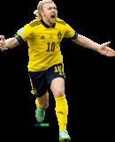 Emil Forsberg football render