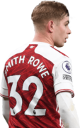 Emile Smith Rowe football render