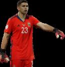 Emiliano Martinez football render