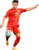 Enis Bardhi football render