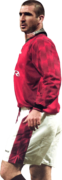 Eric Cantona football render