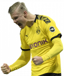 Erling Braut Håland football render