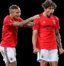 "Everton ""Cebolinha"" Soares & Darwin Núñez football render"