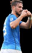 Fabián Ruiz football render
