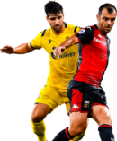 Fabio Borini & Goran Pandev football render