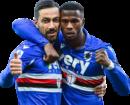 Fabio Quagliarella & Keita Balde football render