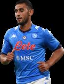Faouzi Ghoulam football render