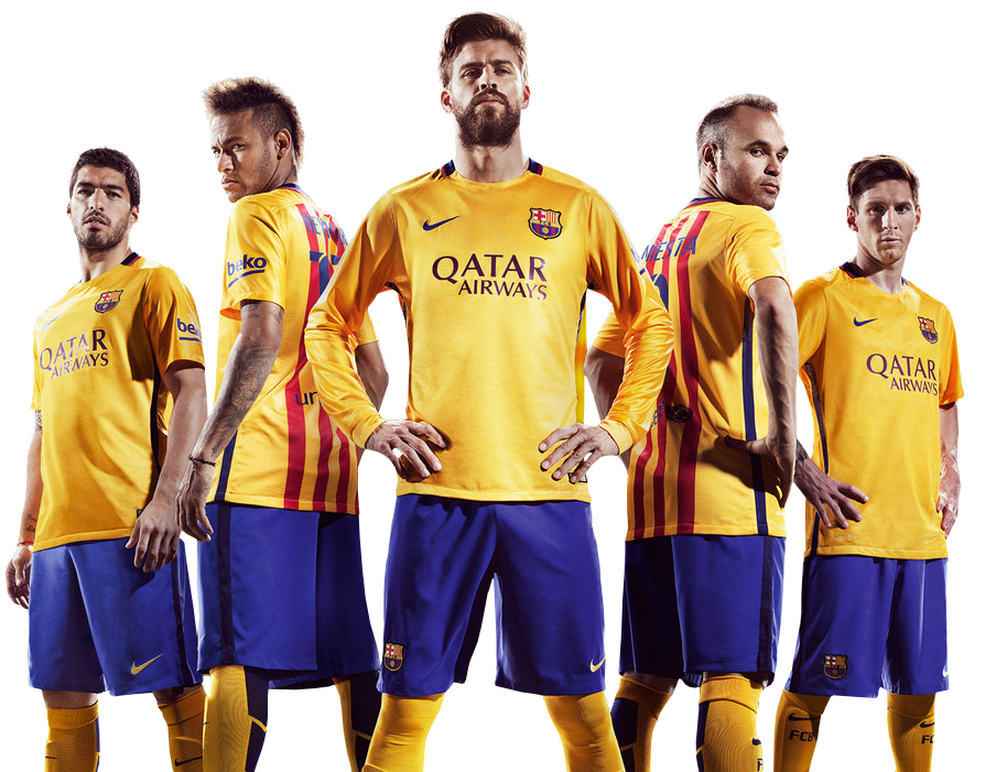 Luis Suarez, Neymar, G...