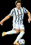 Federico Chiesa football render