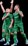 Federico Chiesa, Franck Ribéry & Gaetano Castrovilli football render