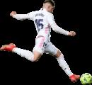 Federico Valverde football render