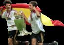 Fernando Morientes & Raul Gonzalez football render