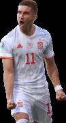 Ferran Torres football render