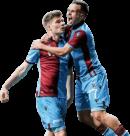 Filip Novak & Alexander Sörloth football render
