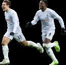 Florian Neuhaus & Denis Zakaria football render
