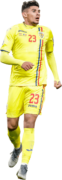 Florinel Coman football render