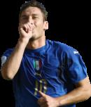 Francesco Totti football render