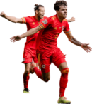 Gareth Bale & Neco Williams football render