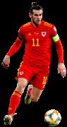 Gareth Bale football render