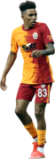 Gedson Fernandes football render