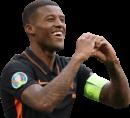 Georginio Wijnaldum football render