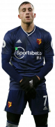 Gerard Deulofeu football render