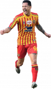 Gianluca Lapadula football render