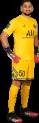Gianluigi Donnarumma football render