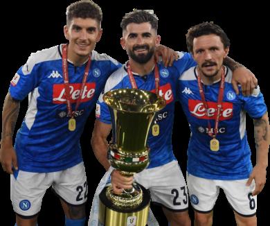 Giovanni Di Lorenzo, Elseid Hysaj & Mário Rui