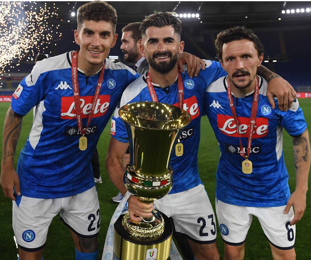 Giovanni Di Lorenzo, Elseid Hysaj & Mário Ruirender