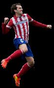 Diego Godin football render