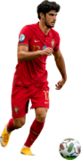 Goncalo Guedes football render
