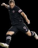 Gonzalo Higuain football render